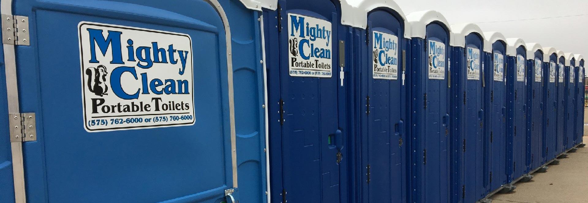 Porta Potty, Portable Toilet & Septic Company in Clovis, NM